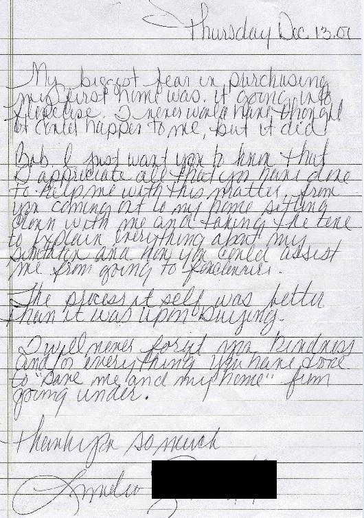 Wellington Drive Testimonial