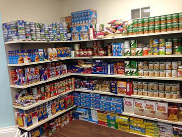 LCS Food Pantry at St. Stephens