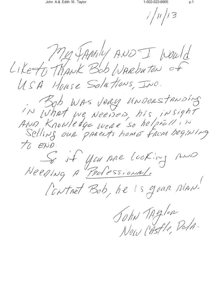 John Taylor - Testimonial