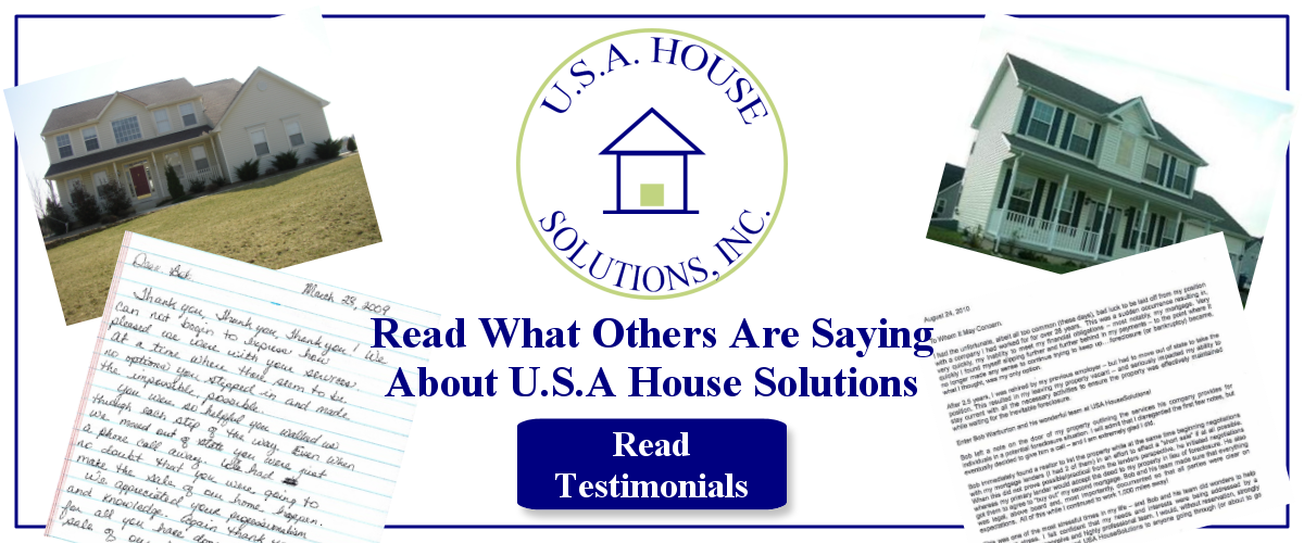 USA House Solutions Real Estate Testimonials