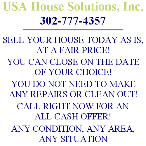 USA House Solutions Will Buy Your House